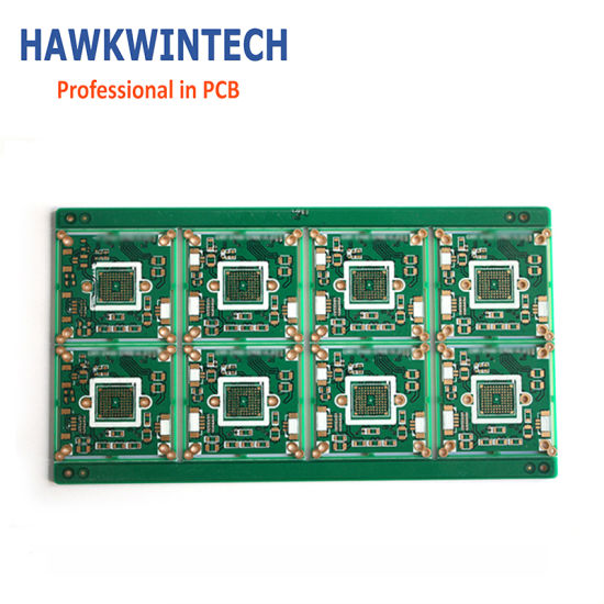 Multilayer Immersion Gold Rigid SMT Aluminum LED PCB pictures & photos