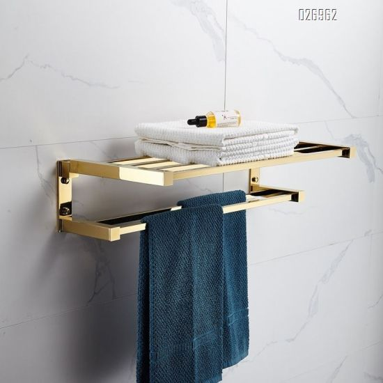 China Hotel Use Bath Towel Holder, Hotel Bathroom Towel Shelf
