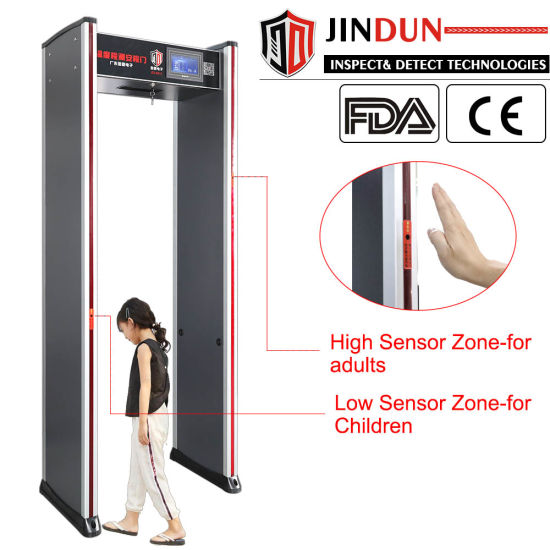 Walk-Through Thermometer Door, Electronic Infrared Thermometer, Non-Contact Forehead Door Thermometer Gate