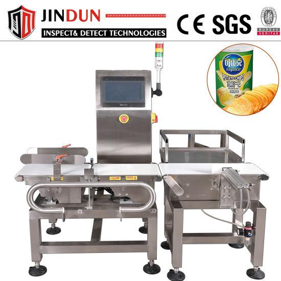 High Precision Conveyor Belt Check Weigher Weighing Machine