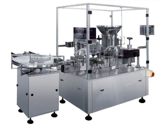 Aseptic Powder Vial Filling and Sotpper Pluging Machine