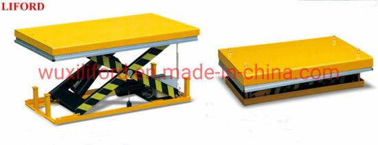 Heavy Duty Stationary Electric Hydraulic Scissor Lift Table Hw1006