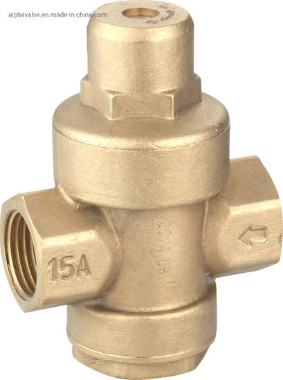 Brass Pressure Reducing/ Relief Valve for Water (a. 0209) pictures & photos
