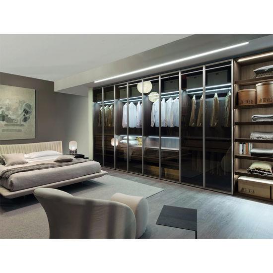 Modern Design Walk In Wardrobe Home Furniture Wooden Bedroom Wardrobe China Wardrobe Bedroom Furniture Made In China Com