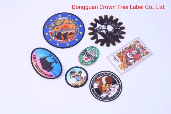 High Quality Sublimation Patches Heat Transfer Badges Military Badges for Hat