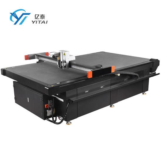 Flatbed CNC Carton Paper Box Sample Cutter Plotter Cardboard Cutting Machine