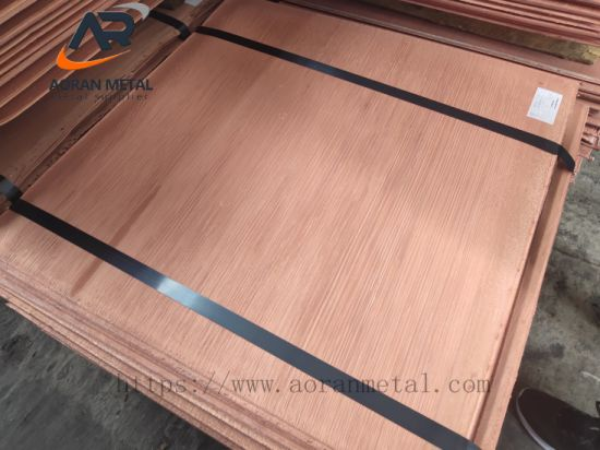 China Manufacturer Factory Copper Cathode