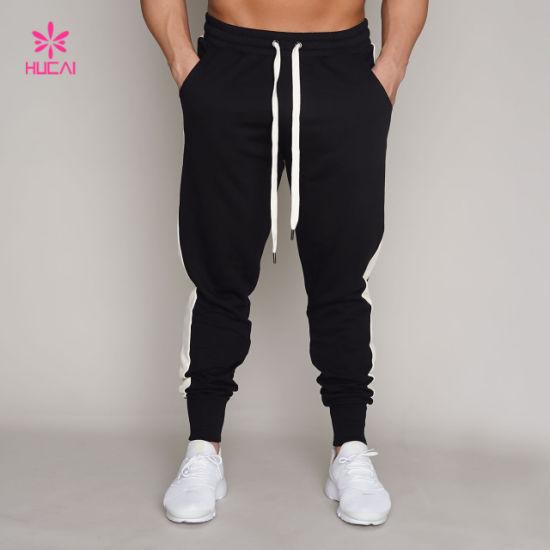 Gym Men Jogger Sweatpants Pocket Track Pants Men Fitness Wear