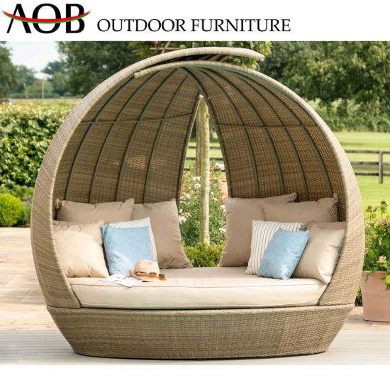 China Modern Outdoor Garden Backyard Resort Rattan Wicker