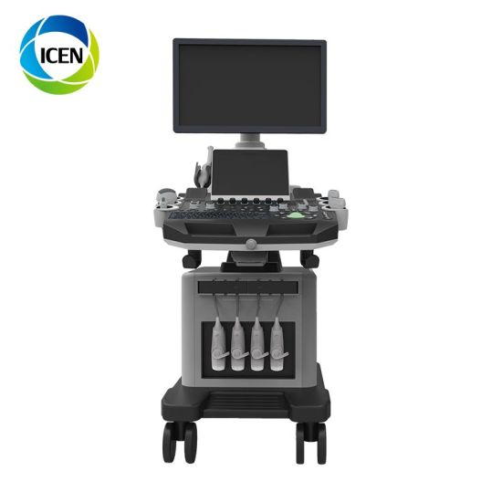 IN-AC900 hospital medical Equipment Portable 3D 4D ECHO Full Digital color doppler Ultrasound Scanner