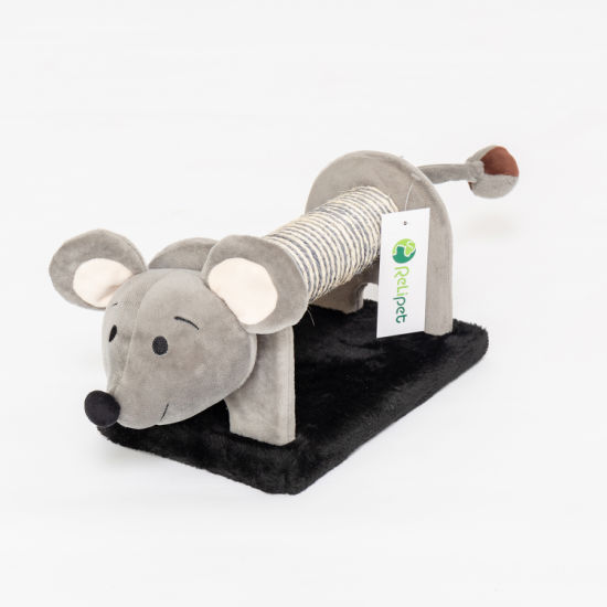 Wholesale Plush and Sisal Cat Scratcher Tree Cat Toy