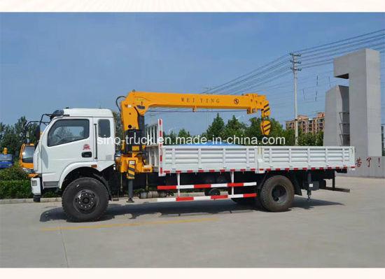 Used Mini Truck Mounted Crane/ Telescopic Boom Truck Mounted Crane/ Truck Crane