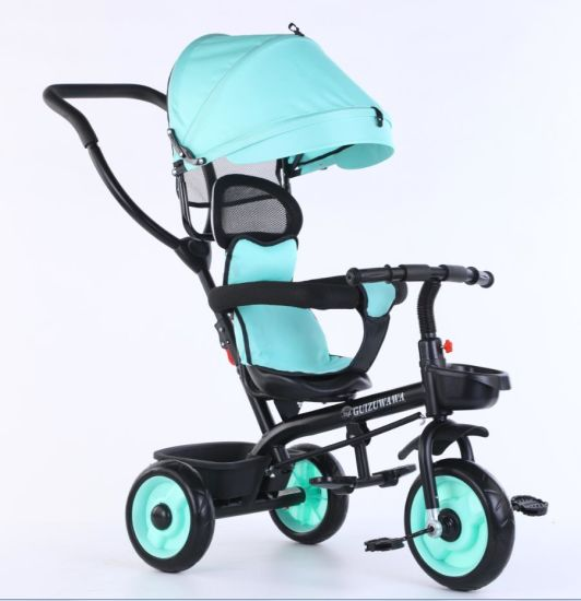 New Model 4 in 1 Baby Stroller Tricycle Children Tricycle for Kids