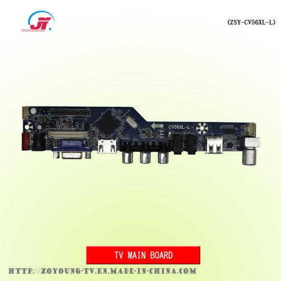 China 15-24 Inch LCD / LED TV DVB T2 Main Board (ZSY-CV56XL-L