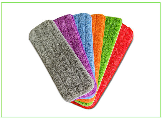 Microfiber Flat Mop Pad pictures & photos