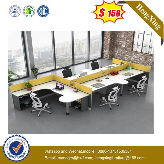 Big Size Solid Wood Cheap Modern Office Workstation pictures & photos