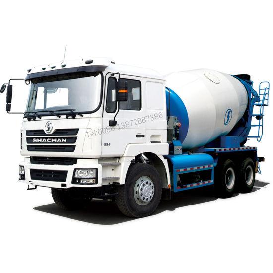 Shacman F3000 6X4 8-10m3concrete Mixer Truck Price