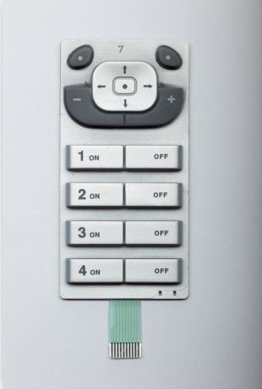 Special Coated Silicone Keypad with Pet Circuit for Controller