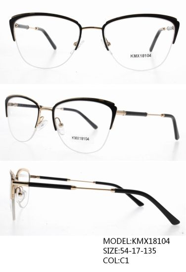 High Quality Lady′s Optical Frames New Fashion Style Kmx18104 pictures & photos