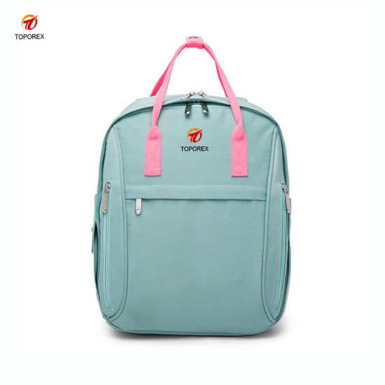 db65552fa6b4 Durable Portable Waterproof Shoulder Baby Diaper Backpack Bag for Mommy. Get  Latest Price