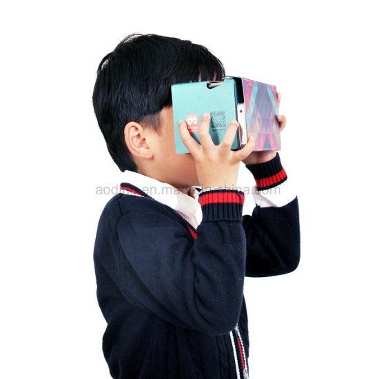 China Custom Assembled 3D Vr Glasses Virtual Reality
