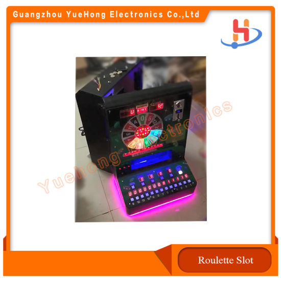 Popular Small Roulette Jackpot Machine Slot Game Machine for Sale