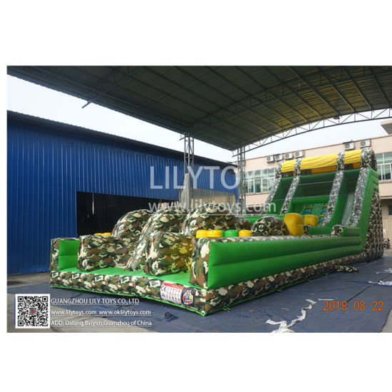 China Manufacture Commercial Sport Inflatable Obstacle Games