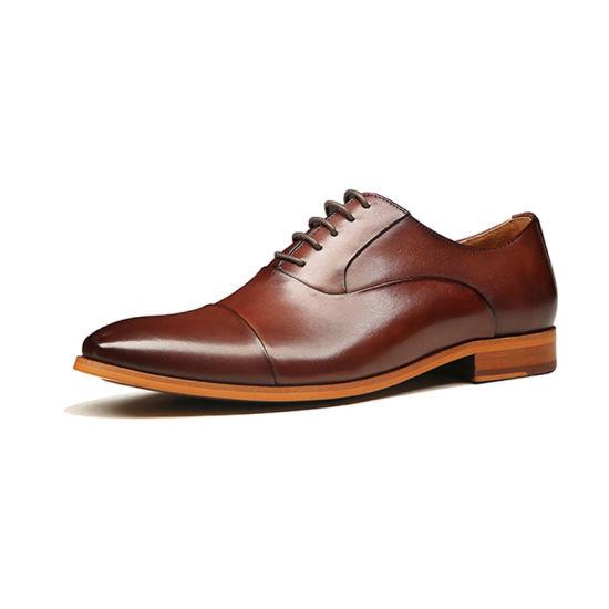China Latest Design Men Fancy Shoes