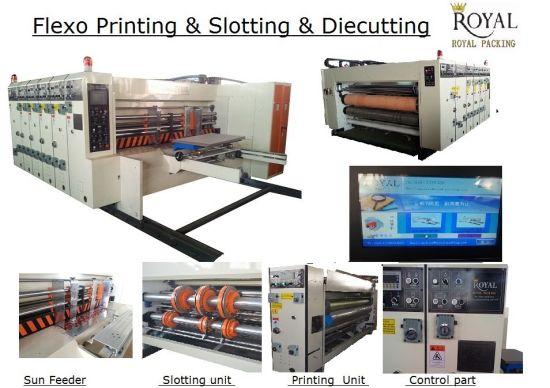 High Speed Flexo Printing, Slotting and Die-Cutting Machine