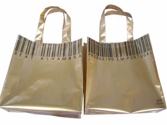Non Woven Laminated Bag, for Shopping and Advertising pictures & photos