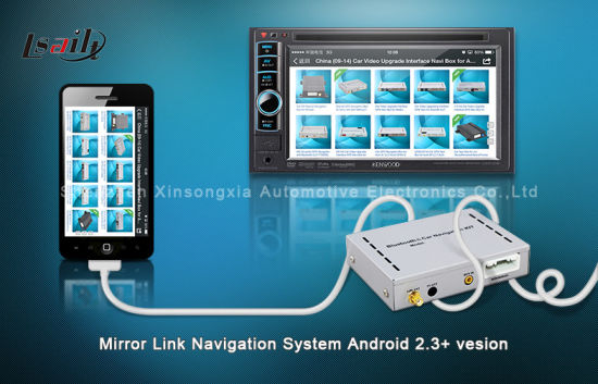 China USB Mirroring System for Kenwood with New in-Car Entertainment