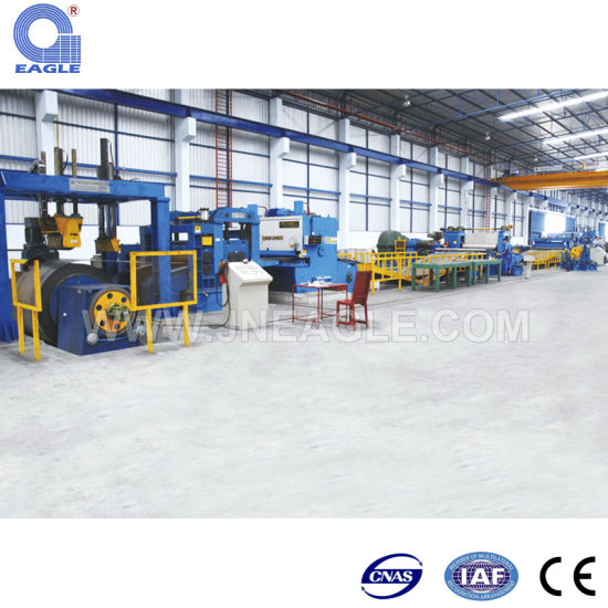Cold/Hot Rolled Galvanized Steel Cut to Length Line pictures & photos