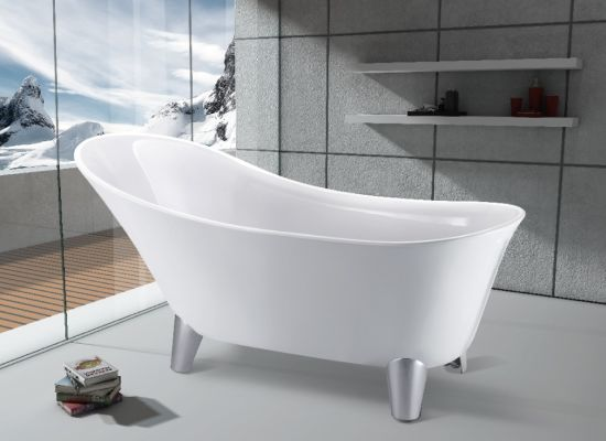 Freestanding Antique Bathtub With 4 Tiger Feet Jl621