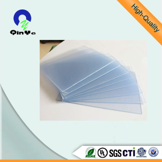1mm Rigid Transparent PVC Sheet for Offset Printing pictures & photos