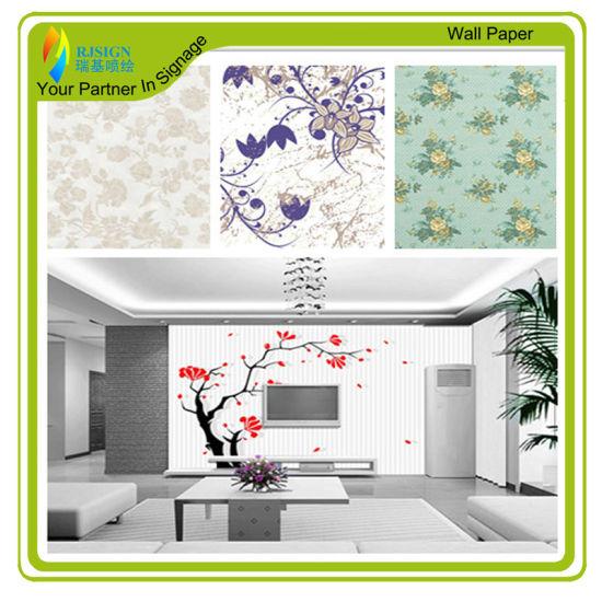 photograph regarding Printable Wall Paper known as China Printable Anti Wove Wall Paper - China Wall Paper, PVC