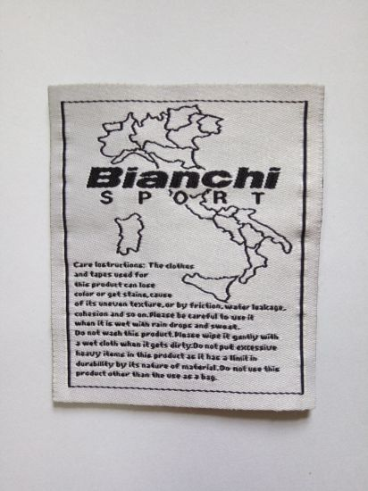Jacquard Satin Woven Label for Garment Labels and Tags
