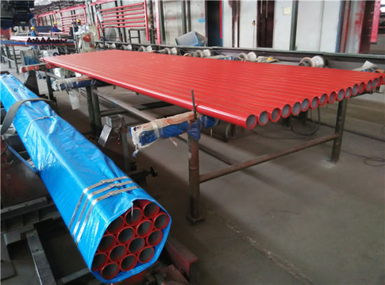 Water Based Red Paint Ul Fm Fire Fighting Steel Pipe