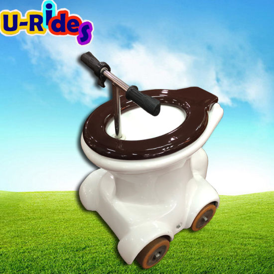 battery charged toilet rides electric car for kids and adult pictures & photos
