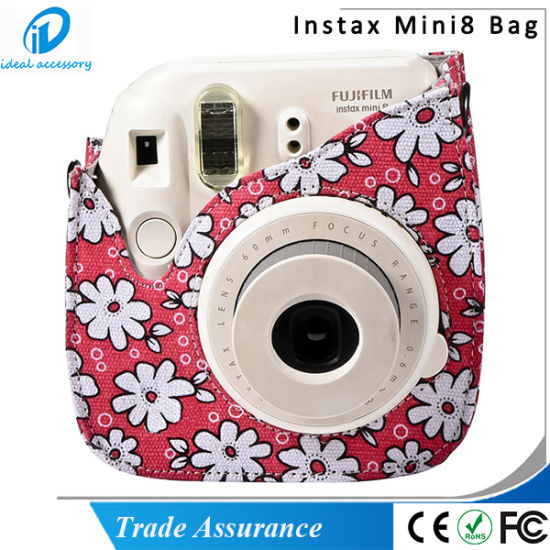 Chrysanthemum Style Pink Blue Yellow Flower Mini8 Plus Camera Case pictures & photos