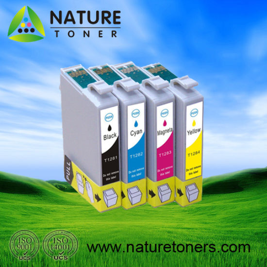 T1281, T1282, T1283, T1284 Compatible Ink Cartridge for Epson Printer