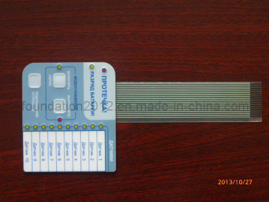 Control Keypads Circuit Board Panel LED Electronic Membrane Switch