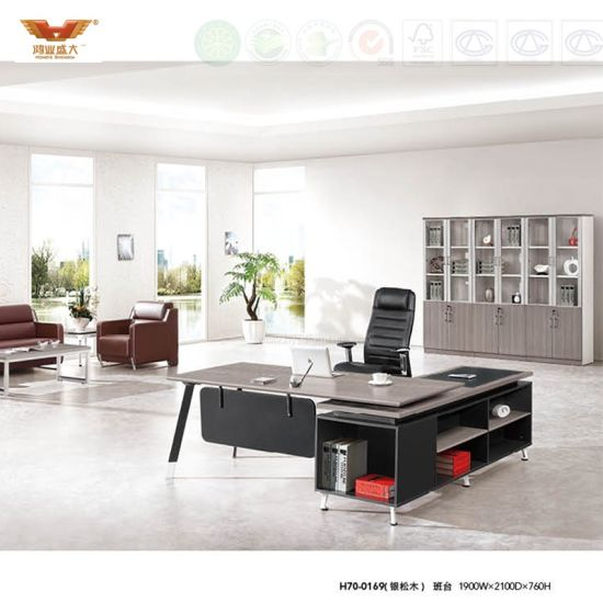 Panel Contract Office Furniture Staff Office Desk Office Table (H70-0169)