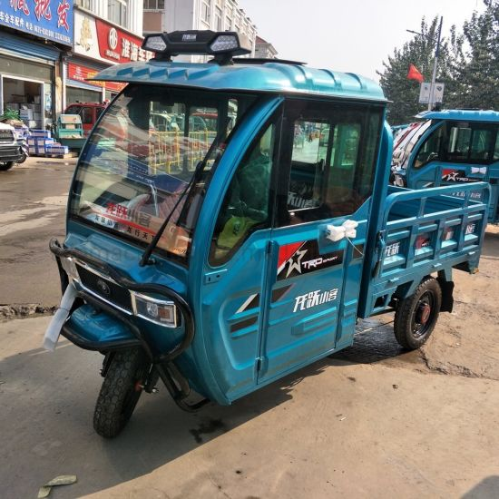 Al-Ly15 60/72V 1200W Cargo Tricycle Electric Cargo Tricycle Truck Tricycle for Sale in India pictures & photos