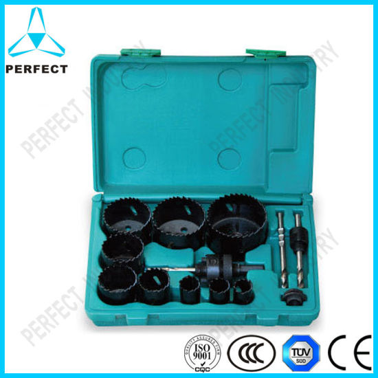 13PCS Bi-Metal Hole Saw Sets in Blow Molding Case pictures & photos