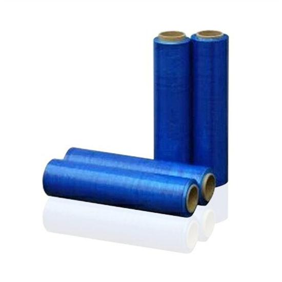 Hot Blue PE Transparent Protective Film Compostable Stretch Film