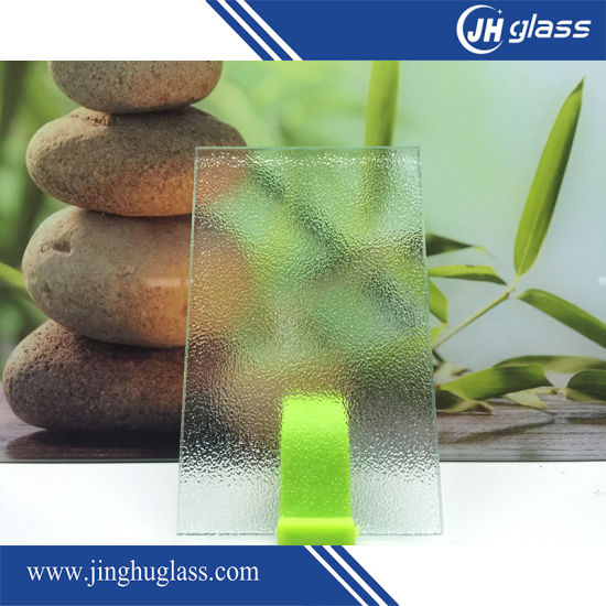 3-6mm Clear and Brown Patterned Glass pictures & photos