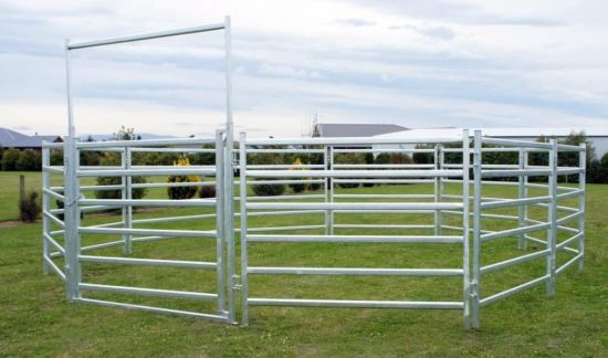 Galvanized Cattle Yards Panel with Gate
