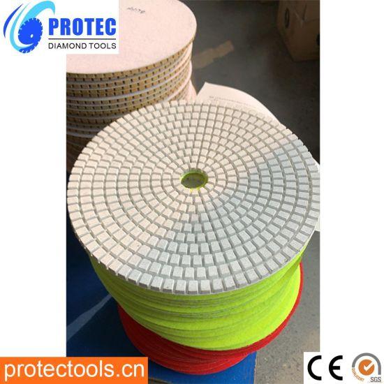 Wet Diamond Polishing Pad/Diamond Tool/Grinding Wheel/Polishing Tool/Polishing Pad/Polishing Wheel/Diamond Wheel/Wet&Dry Polishing Pads/Flexible Polishing Pad