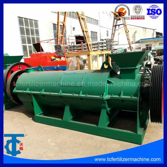 China Organic Fertilizer Ball Shape Granulator Machinery