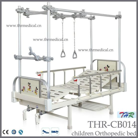 2-Crank Orthopedic Traction Bed for Chidren (THR-CB014) pictures & photos
